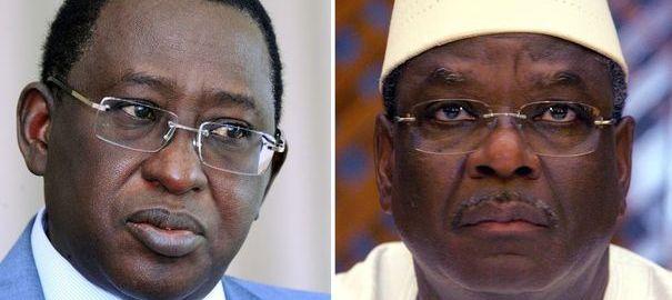 IBK et Soumaïla Cissé (photo crédit: AFP)