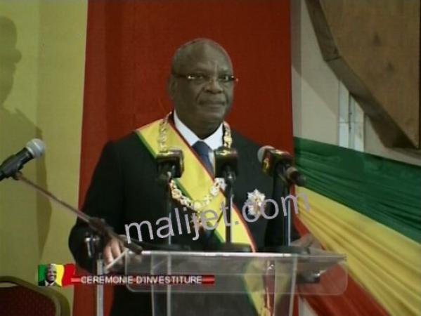 IBK, le nouveau président. Photo: Maliweb