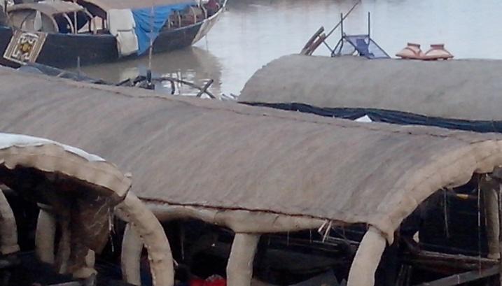 A Mopti, au bord du fleuve (photo; Boubacar)