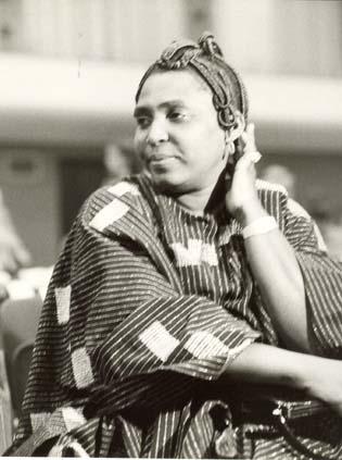 Mariama Bâ. Photo: African Suuces