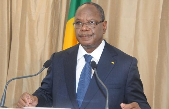 Le président Ibrahim Boubacar Keïta photo: Bamada.net