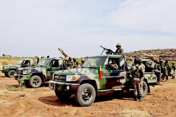 L'armée malienne aux portes de Kidal  photo: Bamada.net