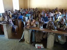 Des élèves en classe, Mali photo: Maliactu.net