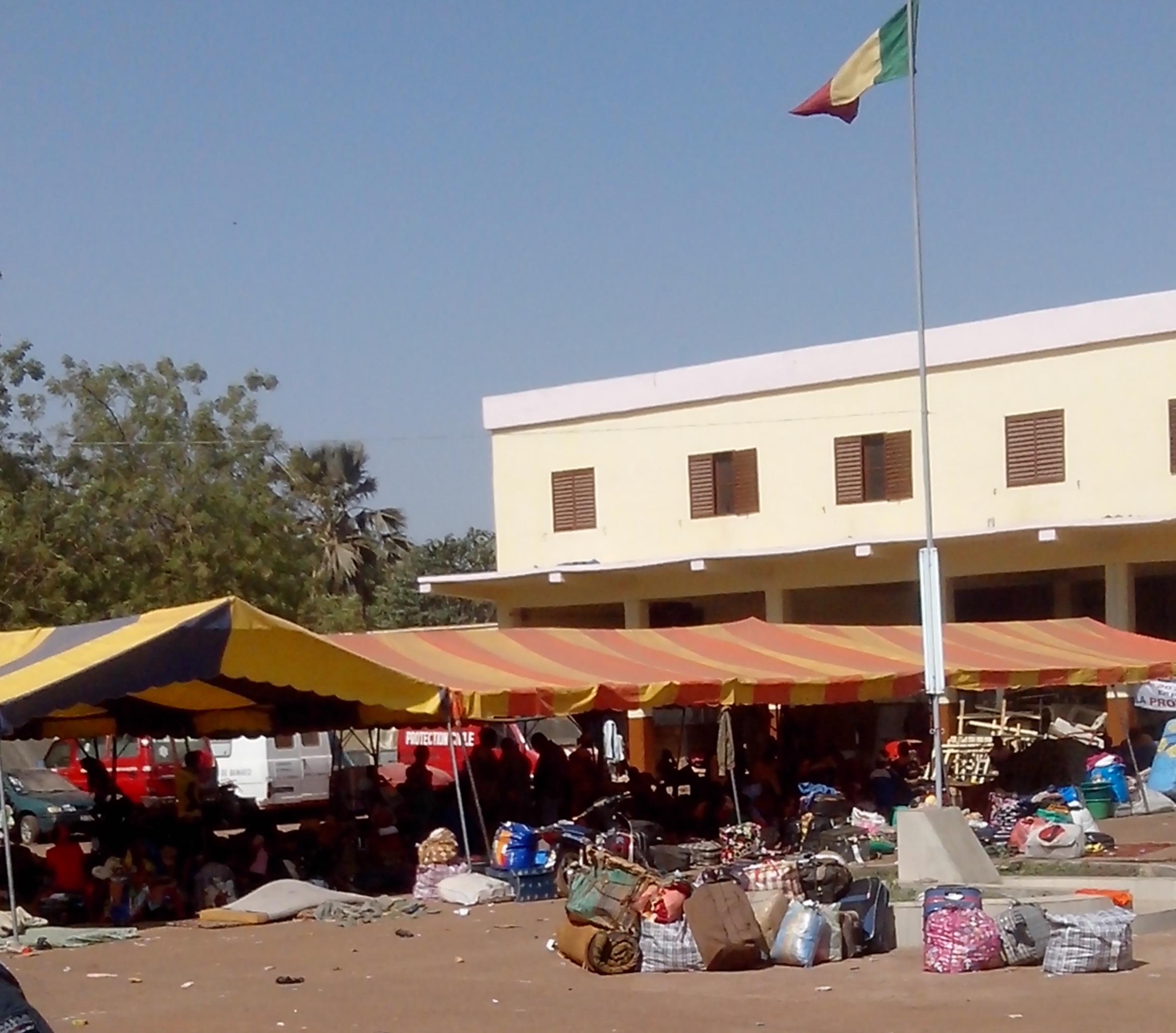 Des Maliens rentrés de la RCA photo: Boubacar