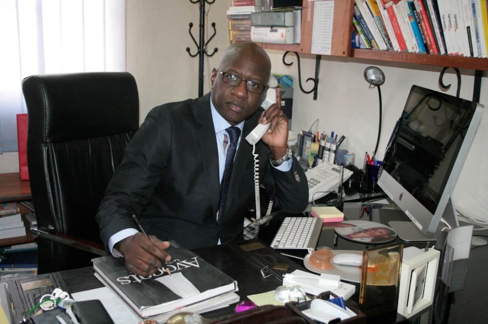 Mamadou Ismaël Konaté, Mamadou Konaté Avocat Associé, Cofondateur de la SCPA JURIFIS CONSULT Photo: www.jurifisconsult.com