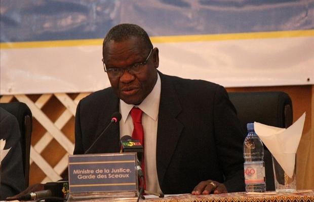 Le ministre malien de la Justice, Mohamed Ali Bathily Photo: Maliweb.net