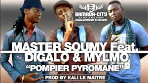 Master Soumy, Digalo et Mylmo photo: Bamada-city.com