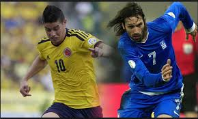 Brésil 2014 Colombie-Grèce, photo: www.africatopsports.com