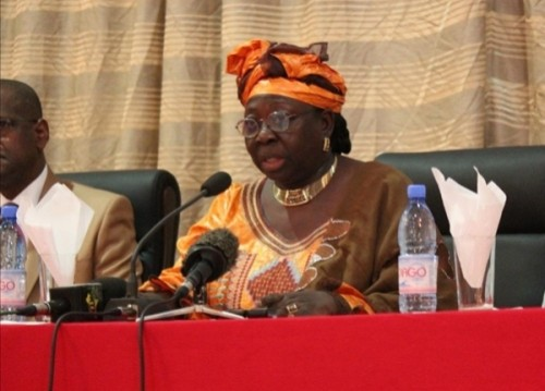 Mme Togola Marie Jacqueline, ministre de l'Education nationale malienne, photo : mali-web.org