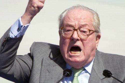 Article : Ebola, Jean-Marie Le Pen et la question de l'immigration
