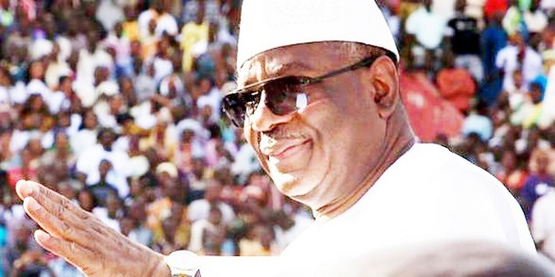 Ibrahim Boubacar Keïta, Président de la République du Mali