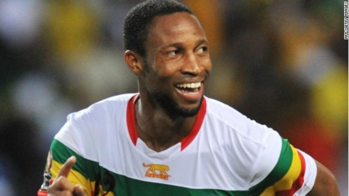 Seydou Keita dit Seydoublen, Capitaine des Aigles, Photo: AFP