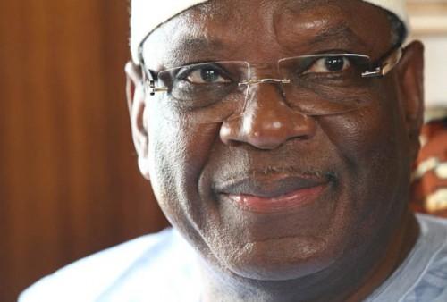 Ibrahim Boubacar Keita, président du Mali Photo: maliactu.net